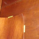 faux bois cherry wood