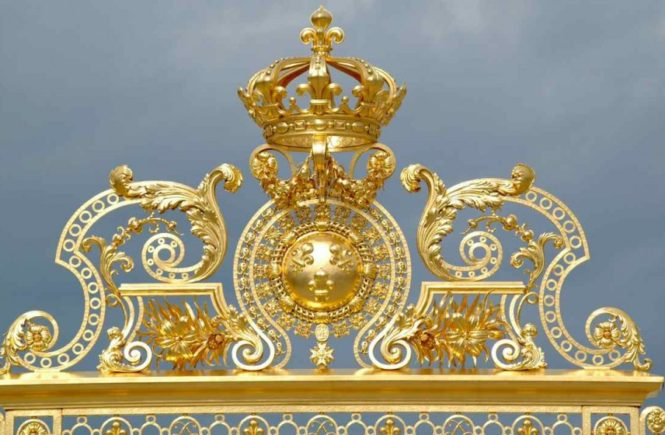 Versailles gold craftsmanship