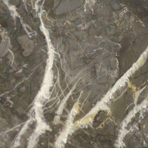 Hand painted marble Grigio Romano