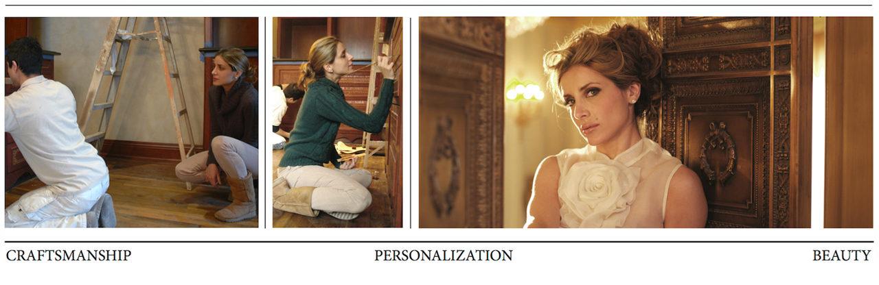 Feminine design personalization
