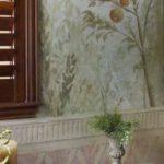 fresco painting trompe l'oeil