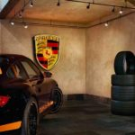 Custom garage luxury Porsche
