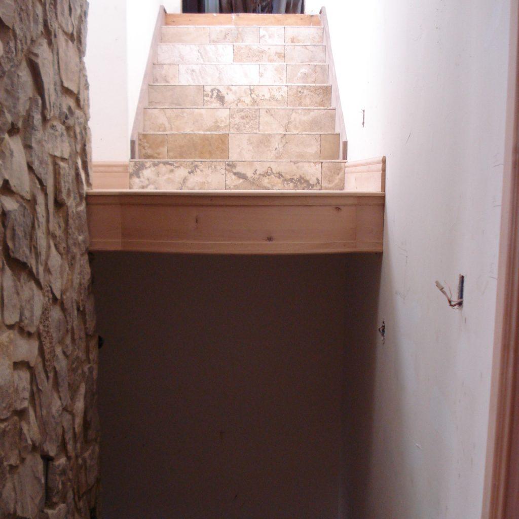 plaster treatment foyer