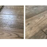 Repair scratches in floor boards