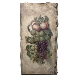 decorative panel fruit still life