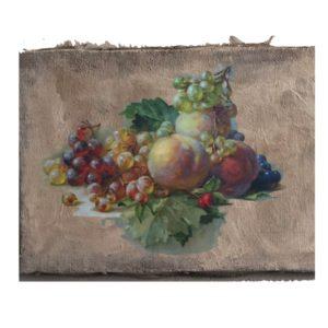 Fruit still life acrylic panel