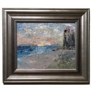 oil on linen, island impressionist